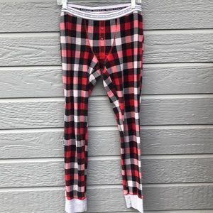 Victoria's Secret women's M plaid pajama bottoms